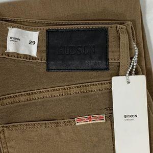 Hudson Byron Straight Jeans 29/34 NWT